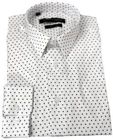 Chemise imprimée étoile blanche