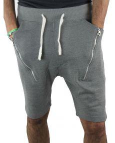 Short sarouel homme gris