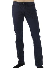 Pantalon chino homme indigo