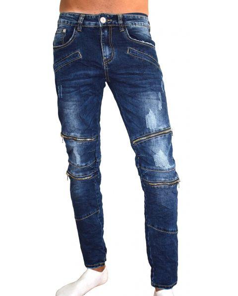 Jean's homme fashion zip