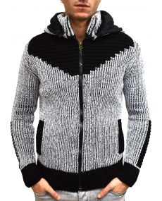 Gilet homme fashion fourré 1009