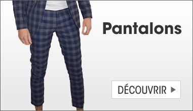 Costumes et pantalons homme